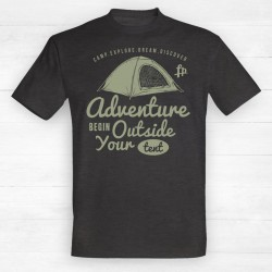 Adventure Begin Outside Your Tent v1