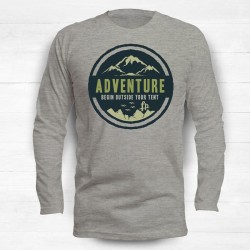 Adventure Begin Outside Your Tent