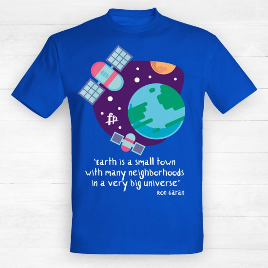 Earth Is A Small Town In A Very Big Universe