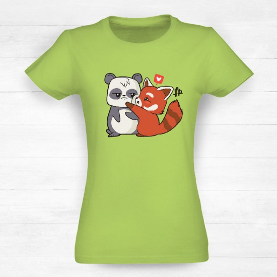 Panda Cartoon Love