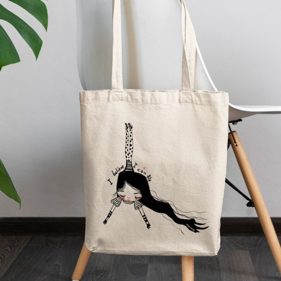 I believe you can fly - Cotton Tote Bag