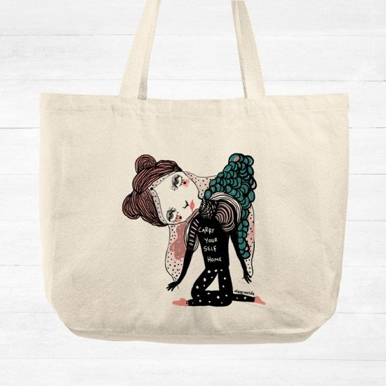 Carry yourself - Tote Bag