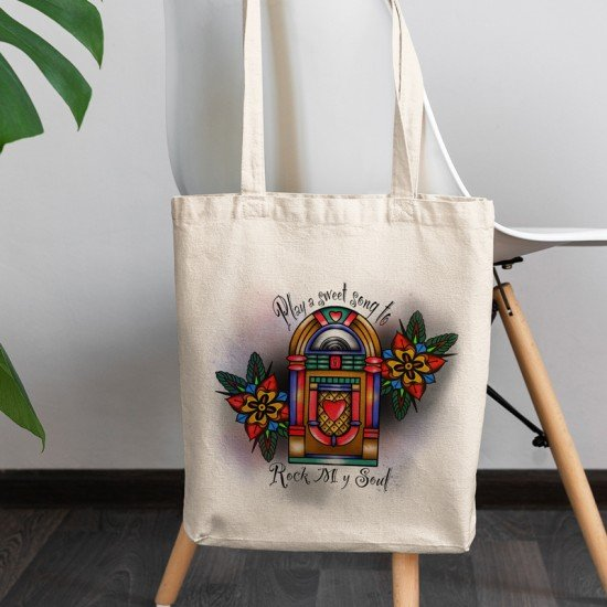 Music Box - Tote Bag