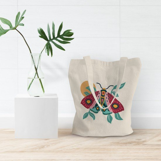 Colorful Butterfly - Tote Bag