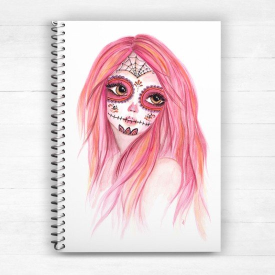 Day of the Dead - Spiral Notebook