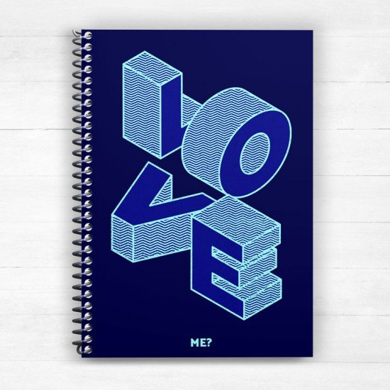 Love me - Spiral Notebook