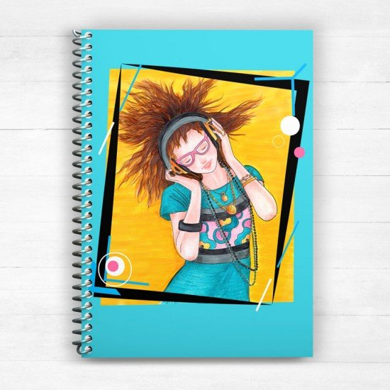 Feel the music - Spiral Notebook