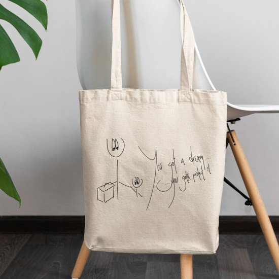 Happiness - Cotton Tote Bag
