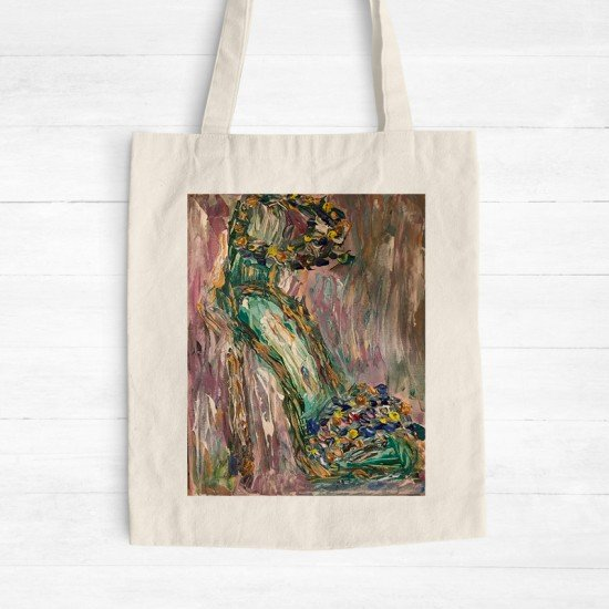 Kathy's Spring - Cotton Tote Bag
