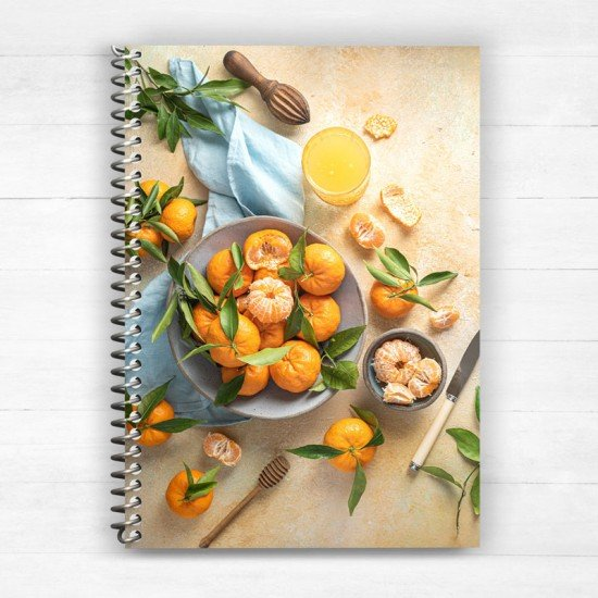 Chios Tangerines Greece - Spiral Notebook