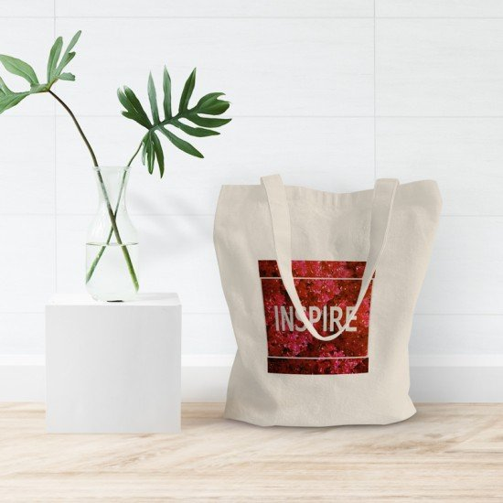 Positive Vibes - Inspire - Vintage Edition  - Cotton Tote Bag
