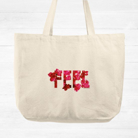 Positive Vibes _FEEL - Cotton Tote Bag