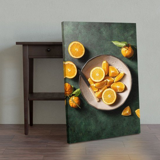 Fresh Citrus  -  Canvas Print