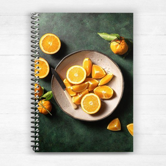 Fresh Citrus - Spiral Notebook