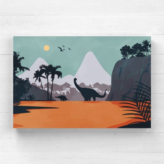 Age of the Dinosaurs 2 - Canvas Print