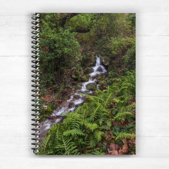 North Chios Greece - Spiral Notebook