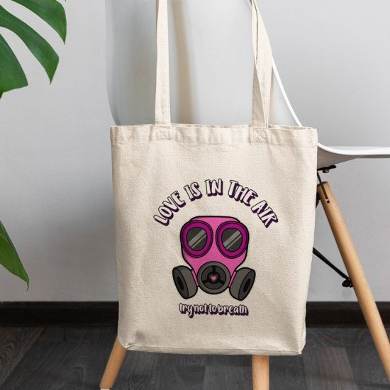 Love is in the air - Cotton Tote Bag