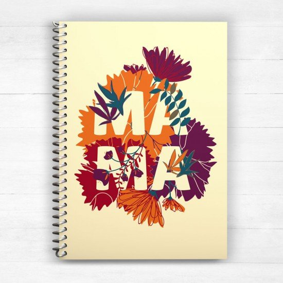 Our first Mother's Day - Mama - Spiral Notebook