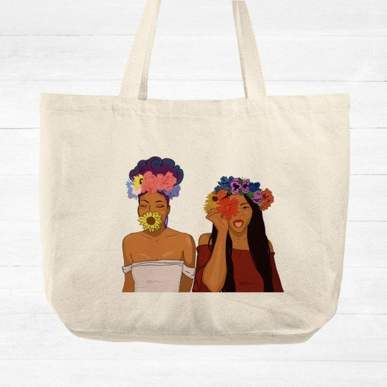 Welcome Spring - Cotton Tote Bag
