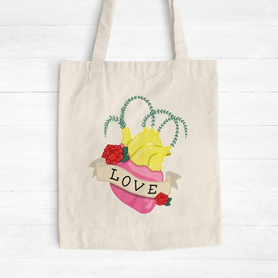 Human Heart - Cotton Tote Bag