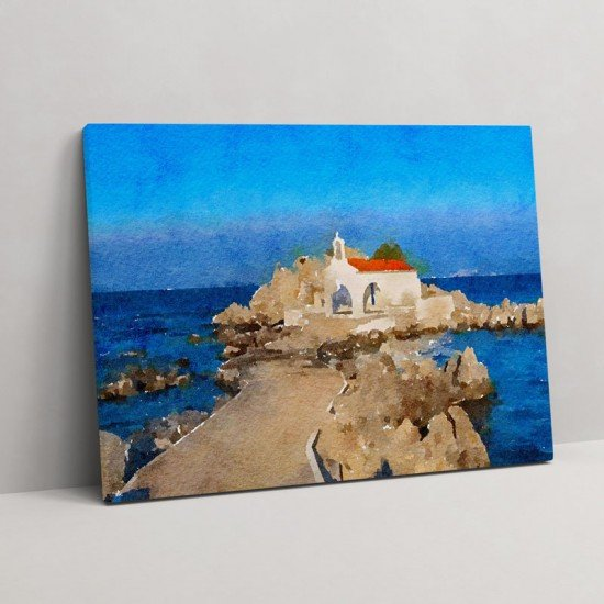 Chios Greece II - Canvas Print