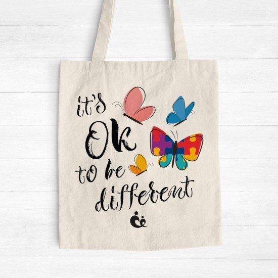 Butterflies - Cotton Tote Bag