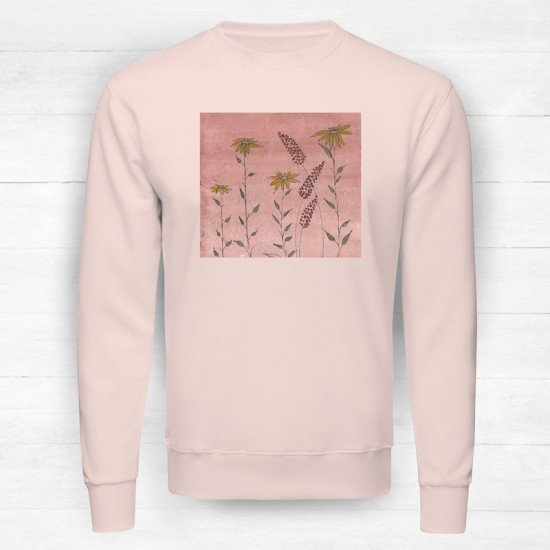 Floral with background I