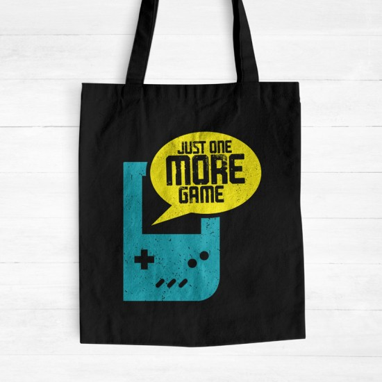 Just One More Game - Cotton Tote Bag