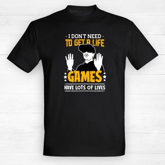 I Don't Need to get A Life - Games have Lots