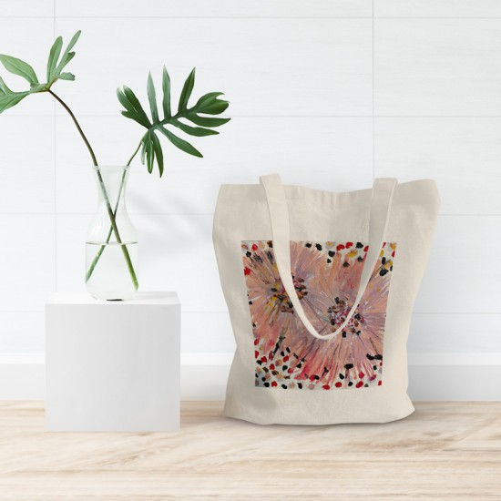 Let the light in - Cotton Tote Bag
