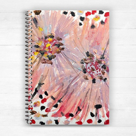 Let the light in - Spiral Notebook