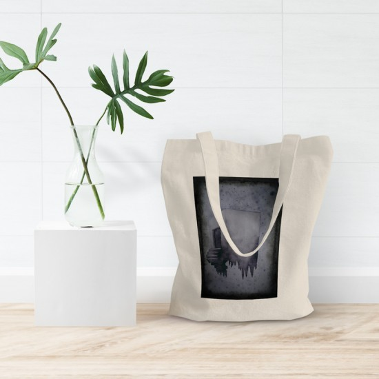 Floating - Cotton Tote Bag