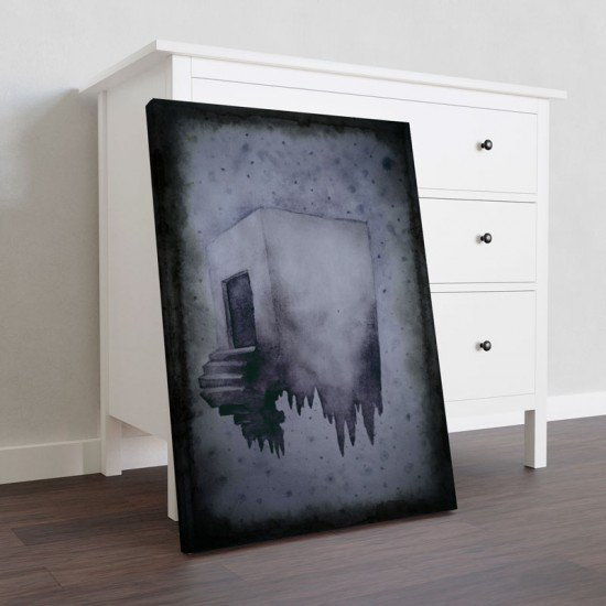 Floating - Canvas Print
