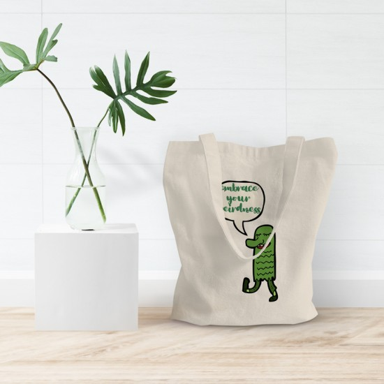 Embrace your weirdness - Cotton Tote Bag