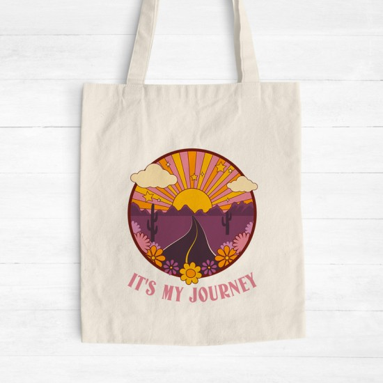 It's my journey - Cotton Tote Bag