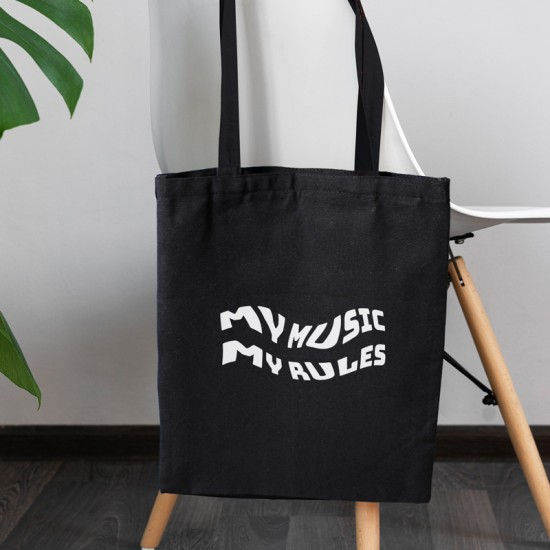 My music my rules - Cotton Tote Bag