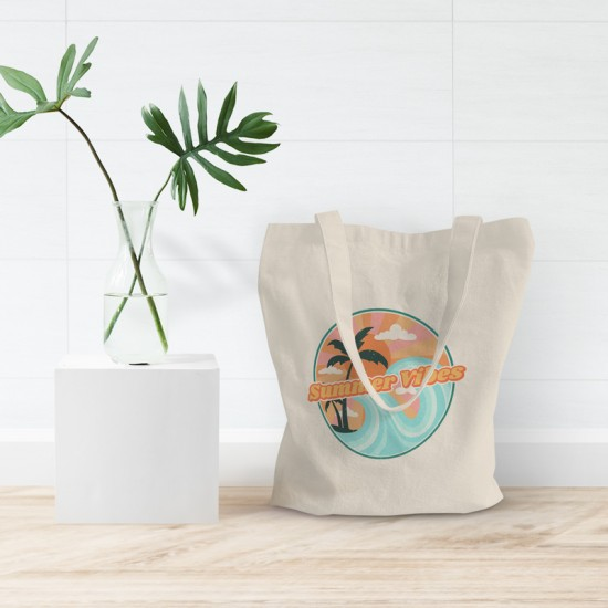 Summer vibes - Cotton Tote Bag