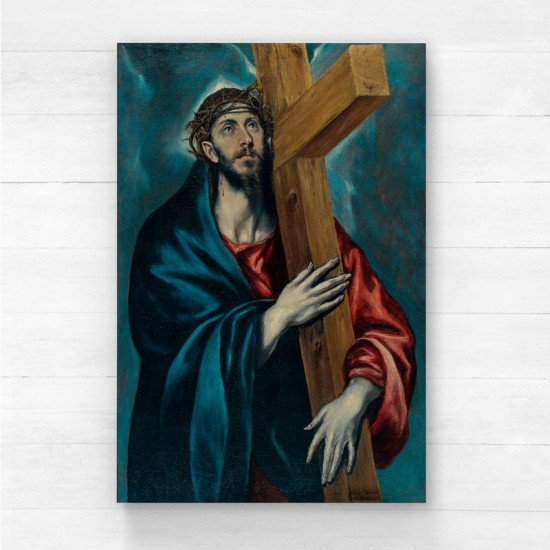El Greco - Christ Carrying the Cross - Canvas Print