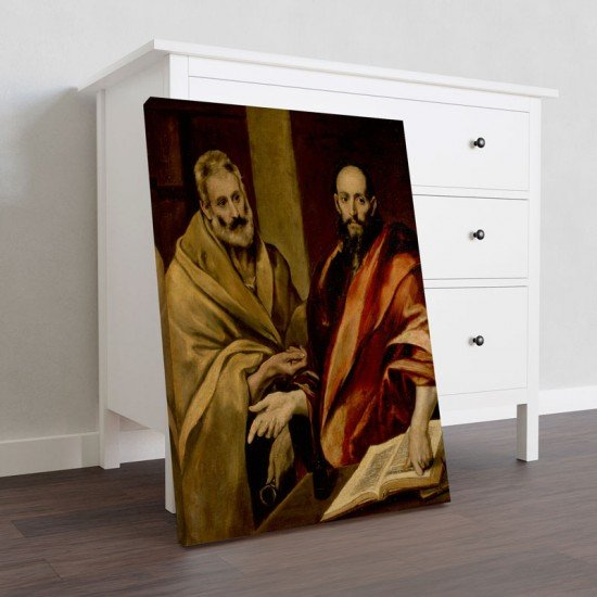 El Greco - Sts Peter and Paul - Canvas Print